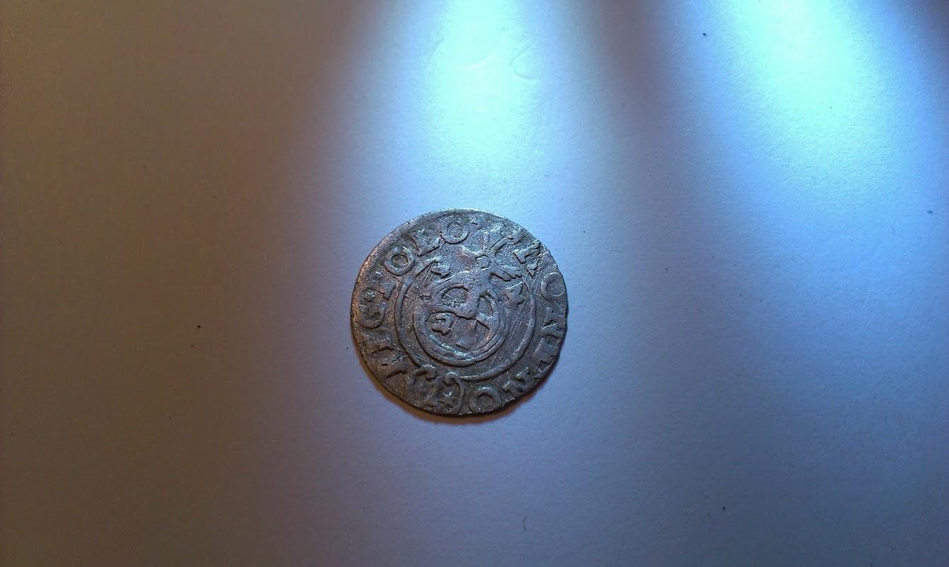 Silver coin 1624 Poland Sigismund III 3 Poltorak (polker)